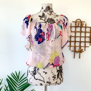 Yumi Kim Cheryl 100% Silk Blouse